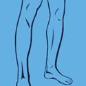Haarentfernung an den Beinen - Männer
