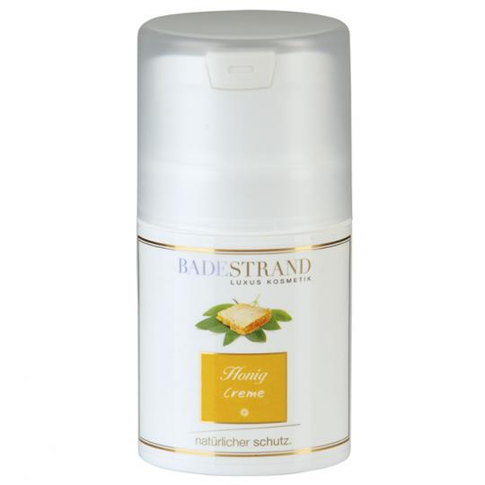 Honey cream by Badestand protects against wind and weather as well as against dry skin