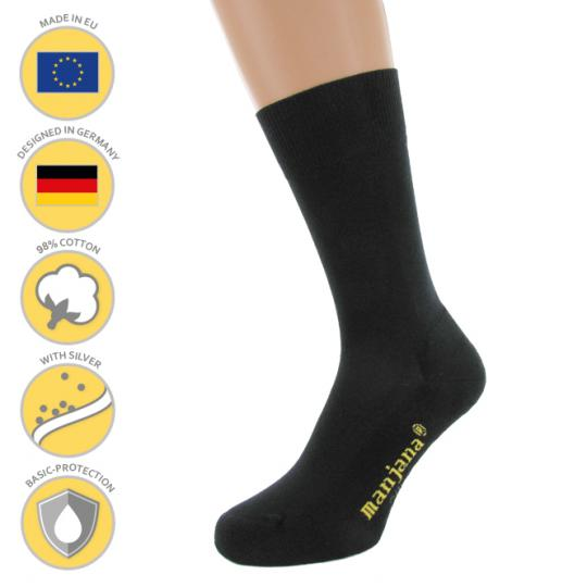 MANJANA® Functional Socks with Silver against Sweaty Feet