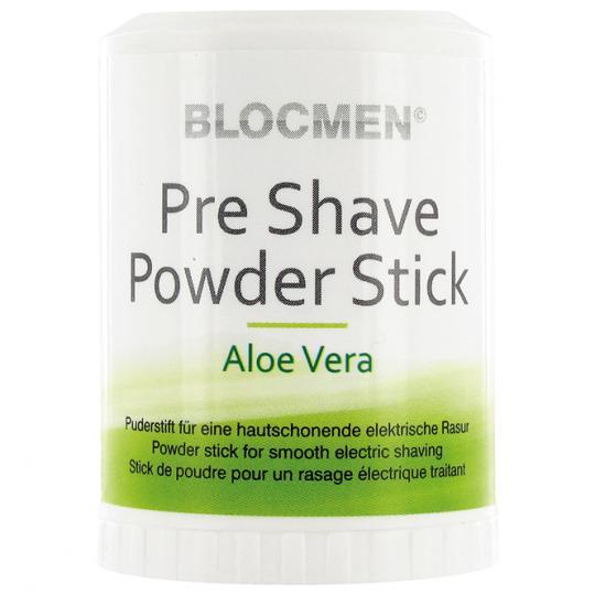 Pre-Shave Powder Stick BLOCMEN© Aloe Vera