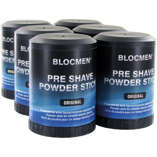 Pre-Shave Powder Stick BLOCMEN© Original 6 Pcs
