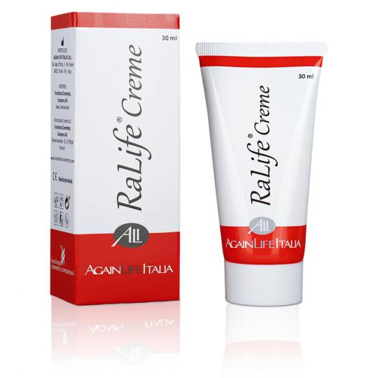 RaLife® Cream Against Inflamed Skin (Facial, Local) in Cancer Therapy