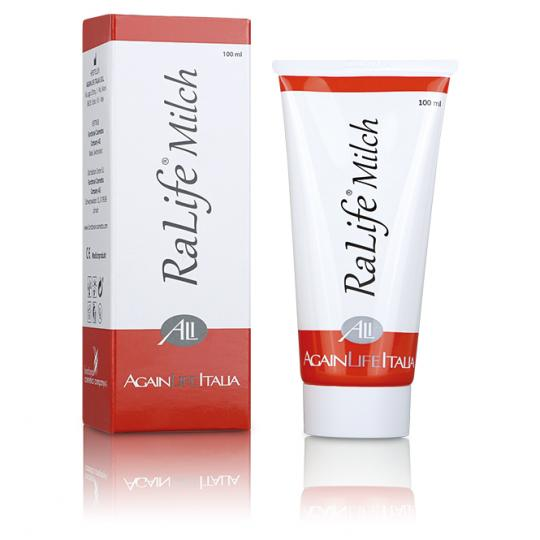 RaLife® milk - for skin problems  (large area) during and after chemotherapy or radiation therapy