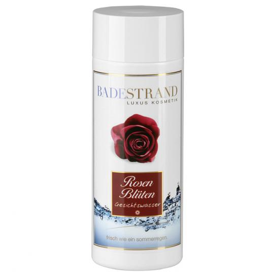 Rose petals Toning water clarifies and optimally prepares the skin for further care by Badestrand