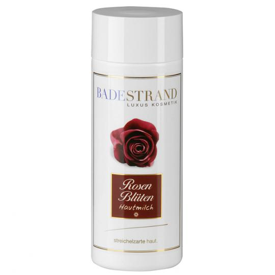 Rose Blossom Skin Milk by Badestrand for an enhanced wellbeing with natural ingredients