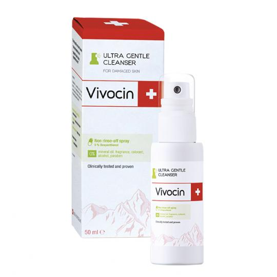 Vivocin® Ultra Gentle Cleanser 50ml - After Tattoo Care - CLEANSING