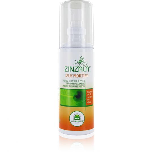 Natural anti-mosquito spray by Zinzalà® prevents insect bites and mosquito bites