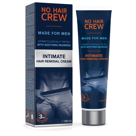 No Hair Crew Intimate Hair Removal Cream For Men